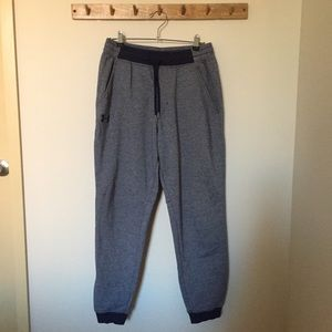 Under Armour Blue and Navy sweatpants